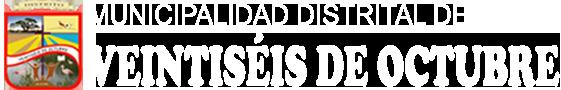 Municipalidad Distrital de Veintiséis de Octubre